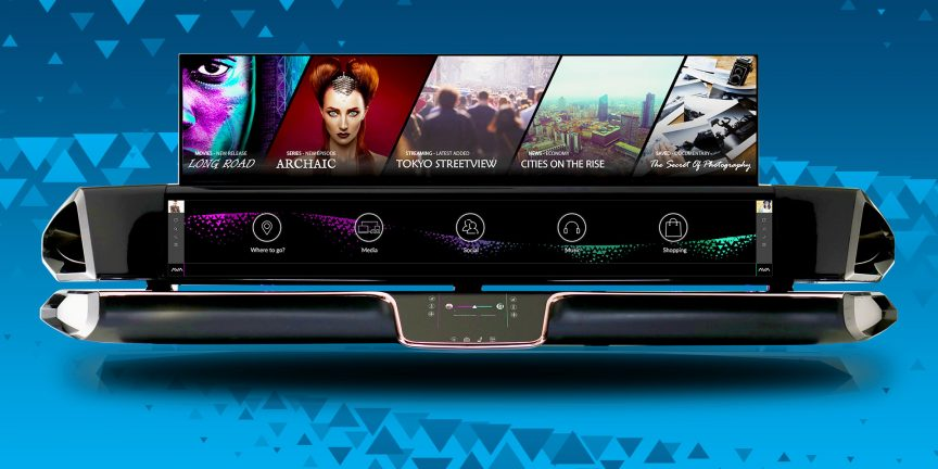 CES Asia - DURA AVA Unity - Integrated Shared Infotainment Platform for Autonomous Vehicles